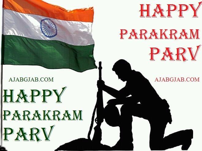 Happy Parakram Parv HD Images