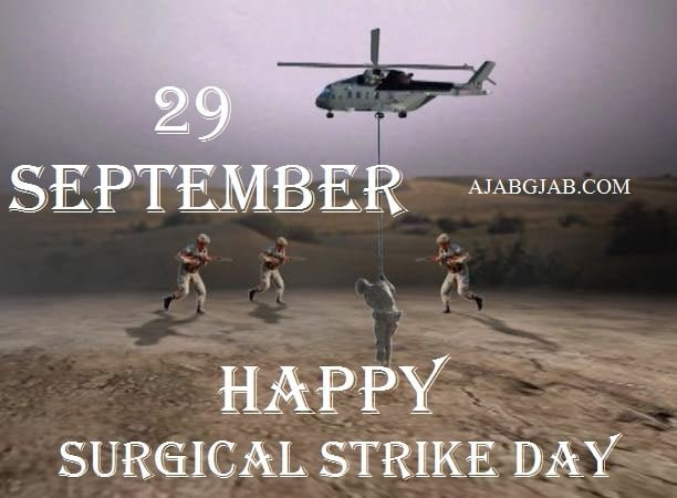 Happy Surgical Strike Day HD Photos