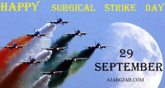 Happy Surgical Strike Day Wallpaper