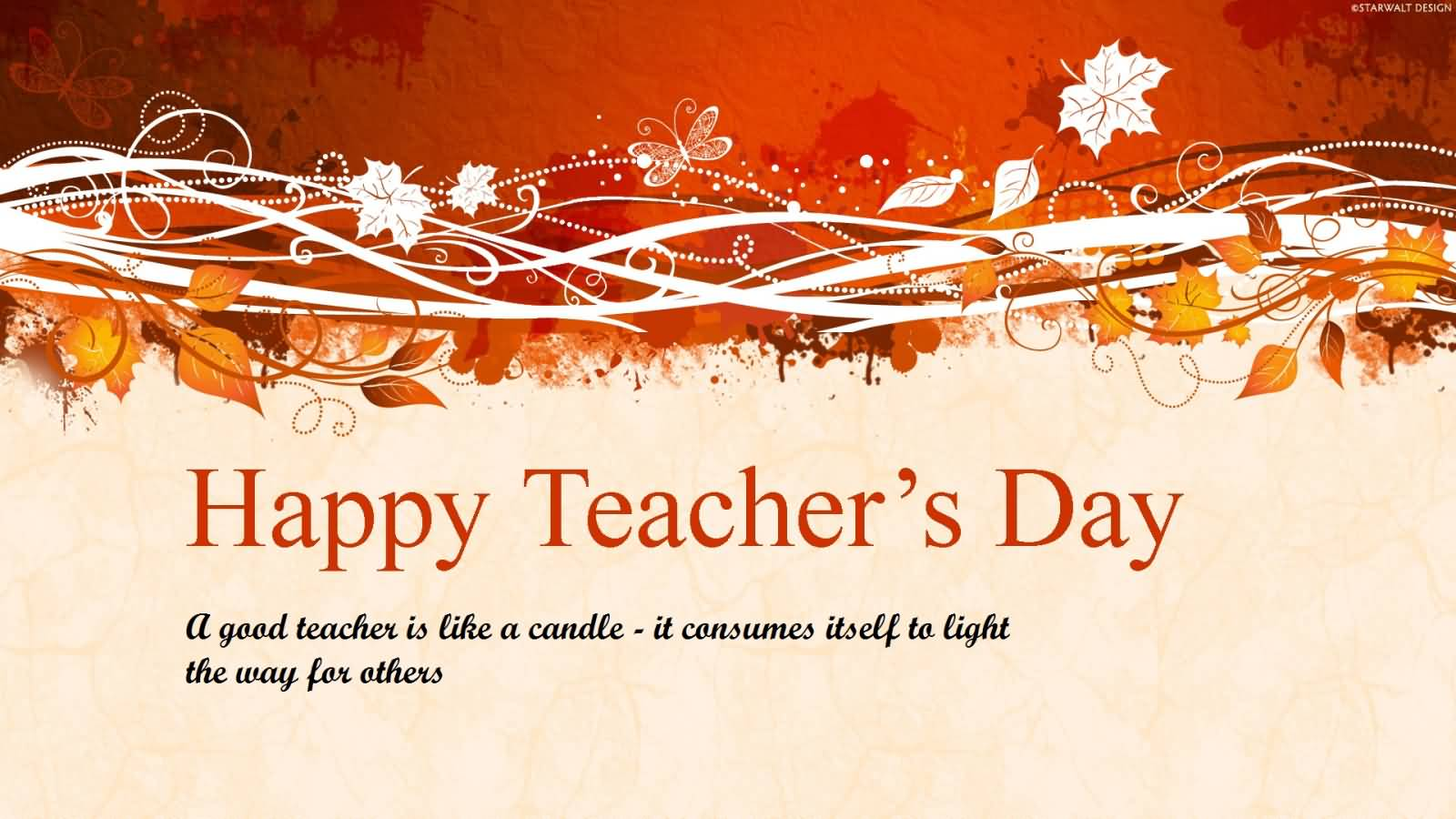 Happy Teachers Day 2019 Hd Wallpaper For Facebook