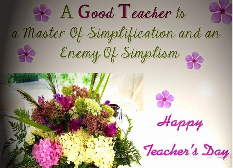 Latest Happy Teachers Day 2019 Hd Wallpaper