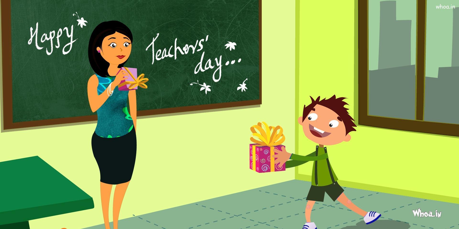 Happy Teachers Day HD Wallpaper