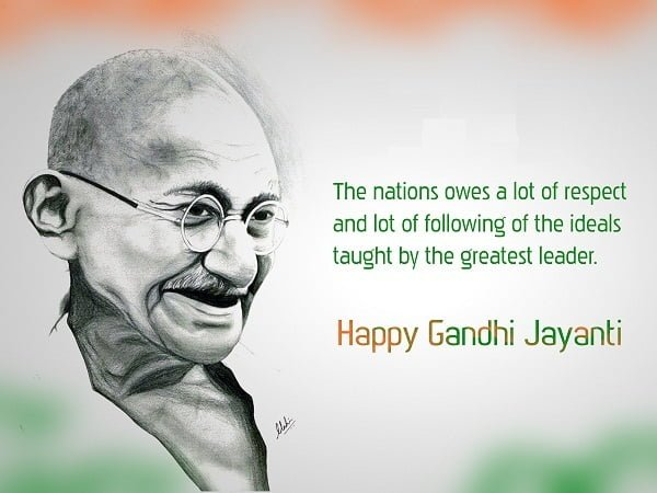 Mahatma Gandhi Jayanti HD Wallpaper