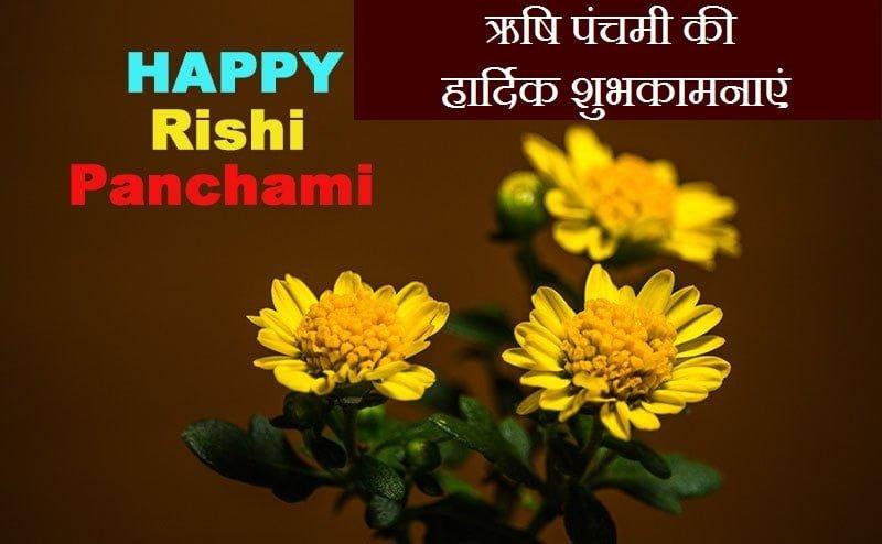 Rishi Panchami Wishes In Hindi