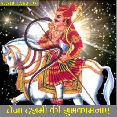 Veer Tejaji Jayanti Wishes In Hindi
