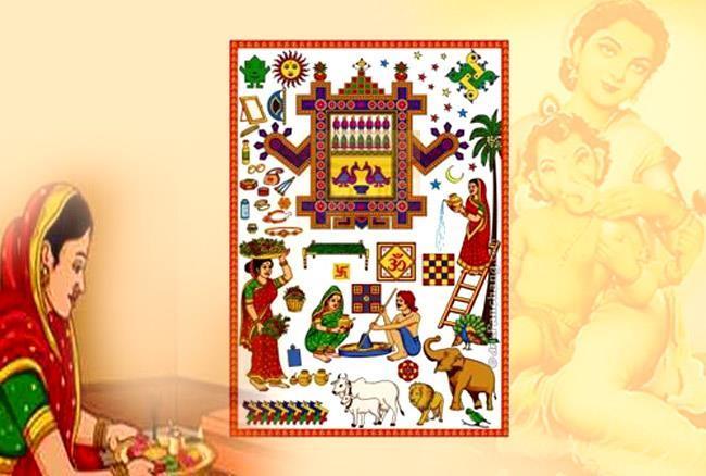 Ahoi Ashtami HD Wallpaper