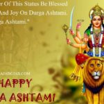 Durga Ashtami Status In English