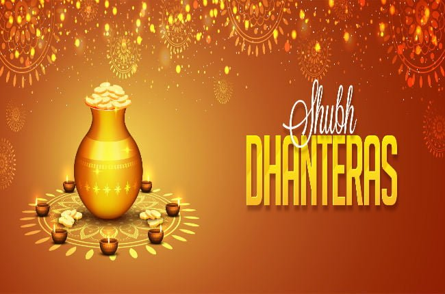 Happy Dhanteras HD WhatsApp Dp