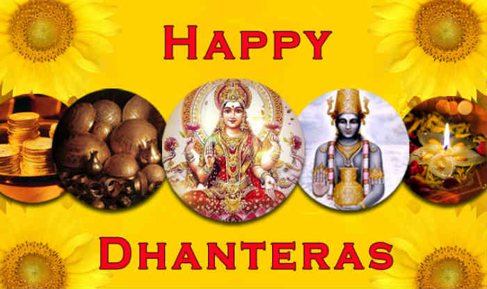 Happy Dhanteras WhatsApp Wallpaper