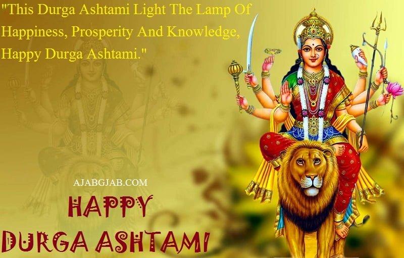 Happy Durga Ashtami Quotes In English
