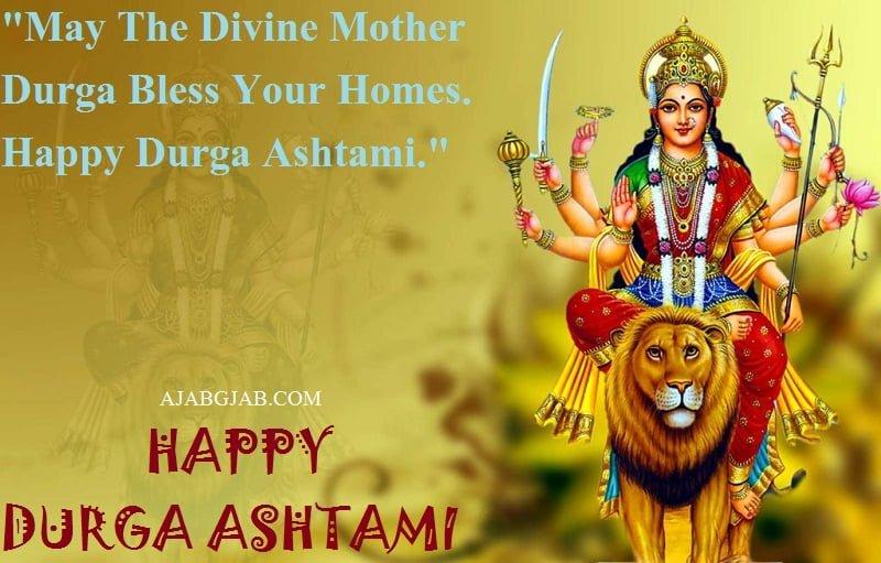 Happy Durga Ashtami Status In English