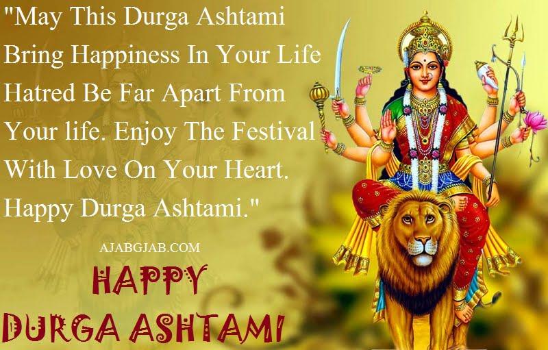 Happy Durga Ashtami WhatsApp Status In English