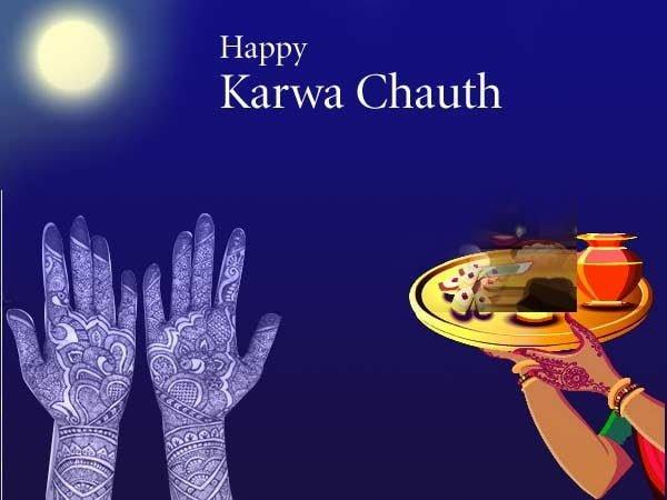 Happy Karwa Chauth HD Wallpaper