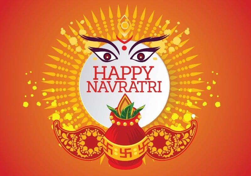 Happy Navratri 2019 Wallpaper For Facebook