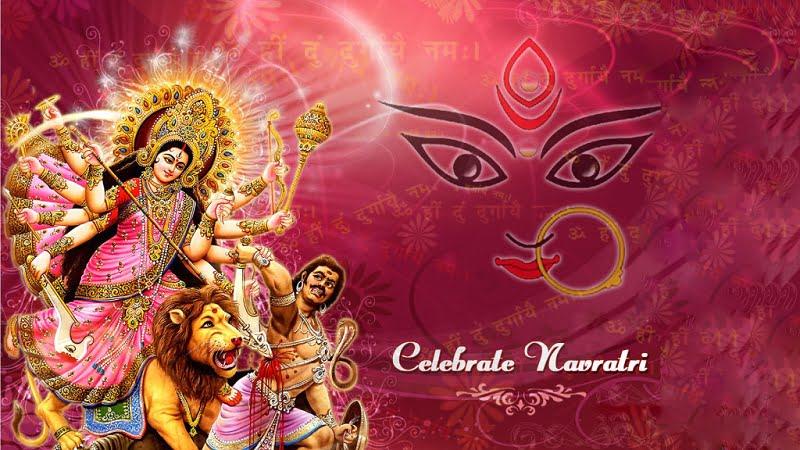 Happy Navratri 2019 Wallpaper For WhatsApp
