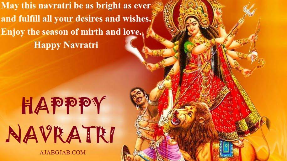Happy Navratri Quotes In English