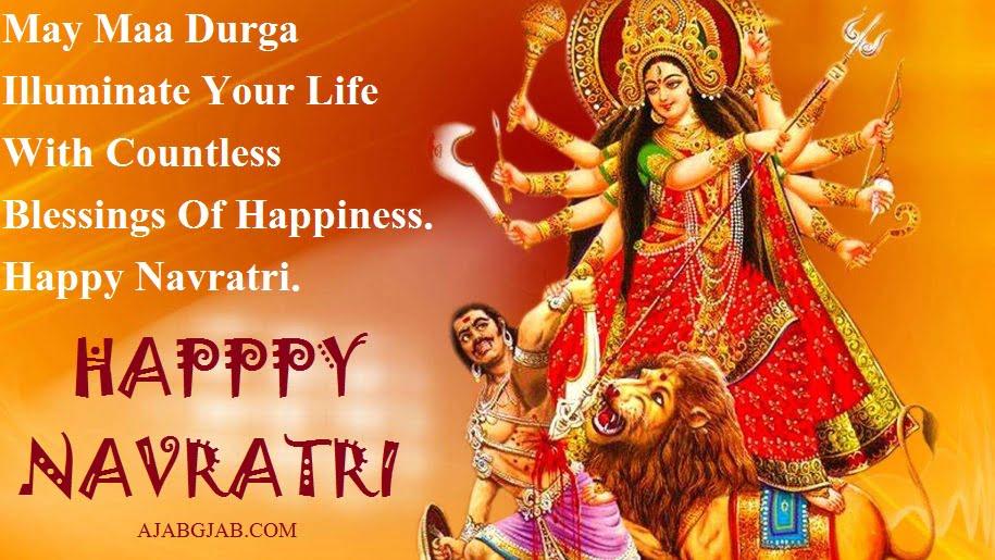 Happy Navratri Slogans In English