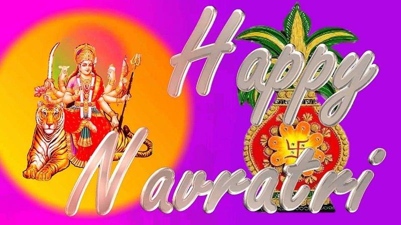 Happy Navratri 2019 Greetings For WhatsApp