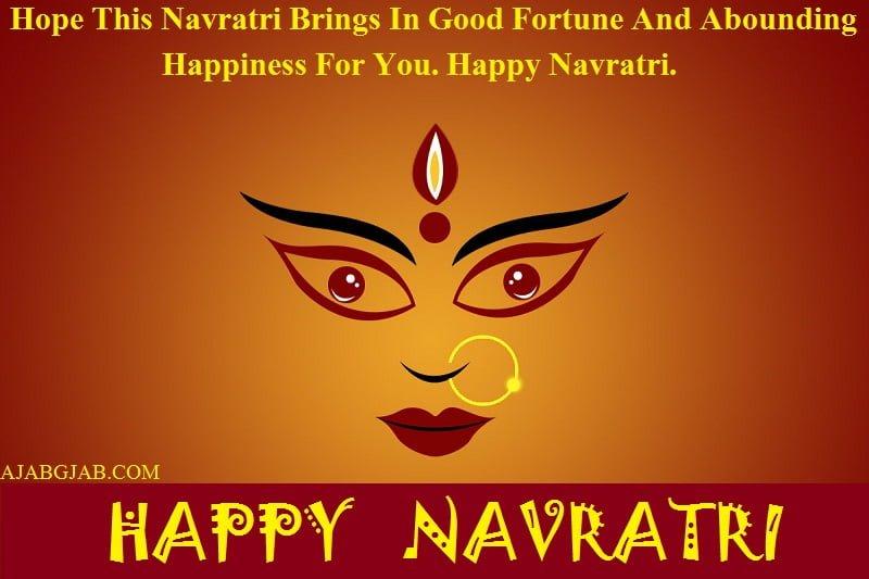 Happy Navratri WhatsApp Status In English