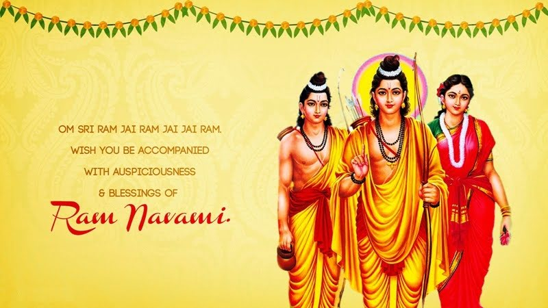Happy Ram Navami HD Wallpaper