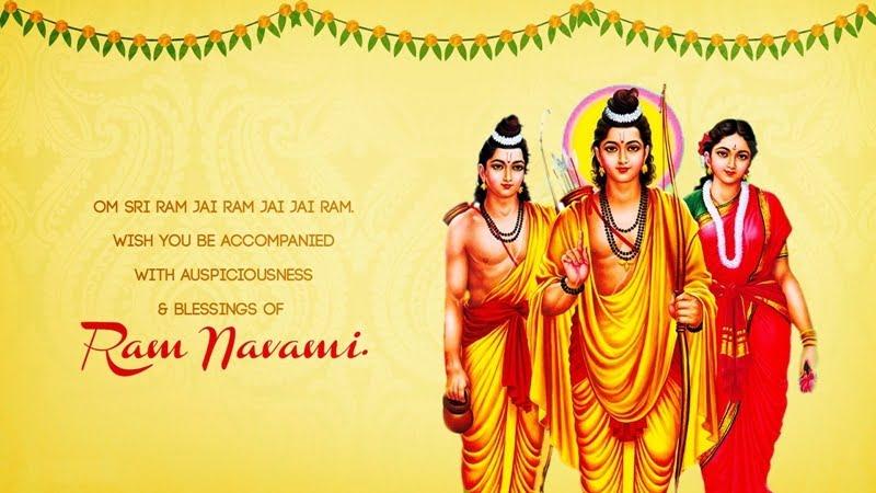 Happy Ram Navami HD Wallpaper