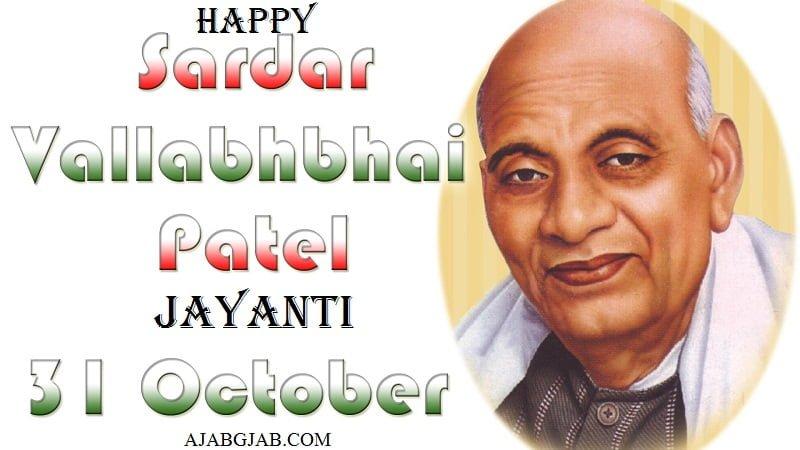 Happy Sardar Patel Jayanti HD Pictures