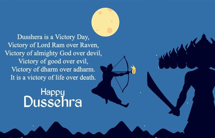 Happy Vijayadashami 2019 Hd Wallpaper For WhatsApp