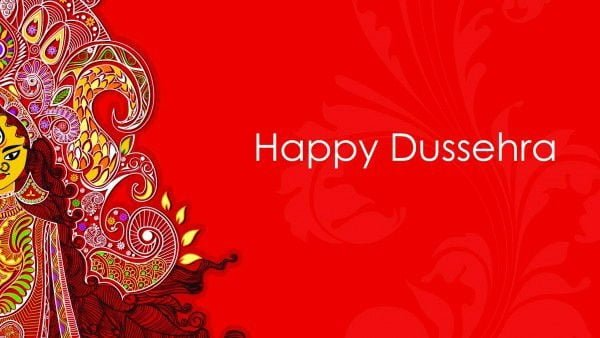 Happy Vijayadashami HD Wallpaper