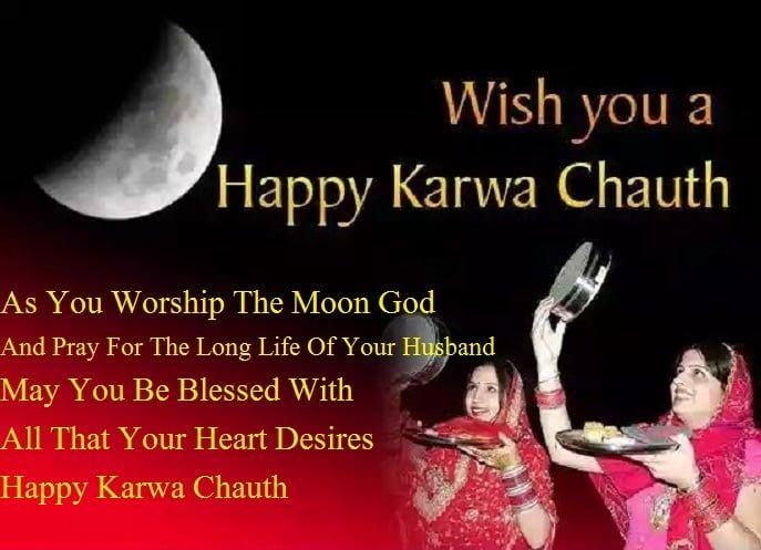 Karwa Chauth Wishes In English