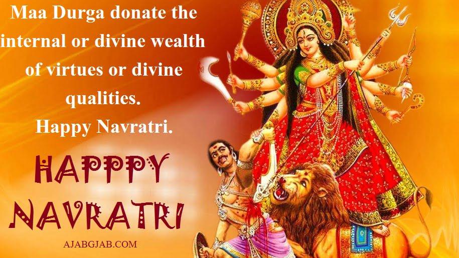 Navratri Quotes In English