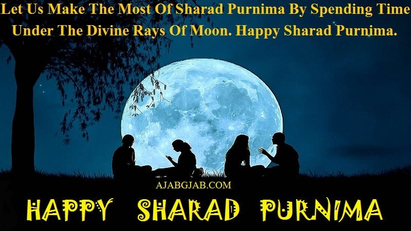 Sharad Purnima Wishes In English