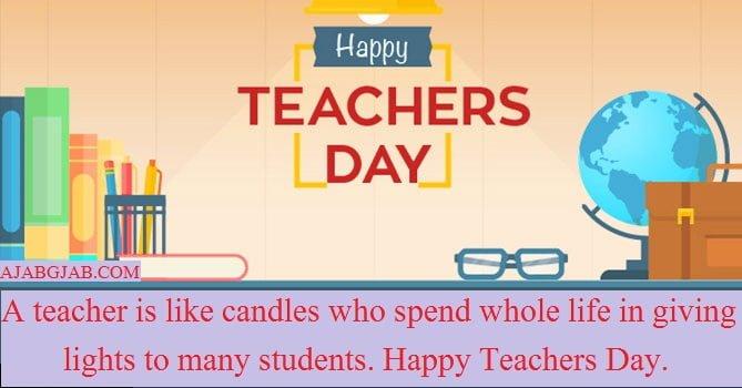 Teachers Day Slogans In English