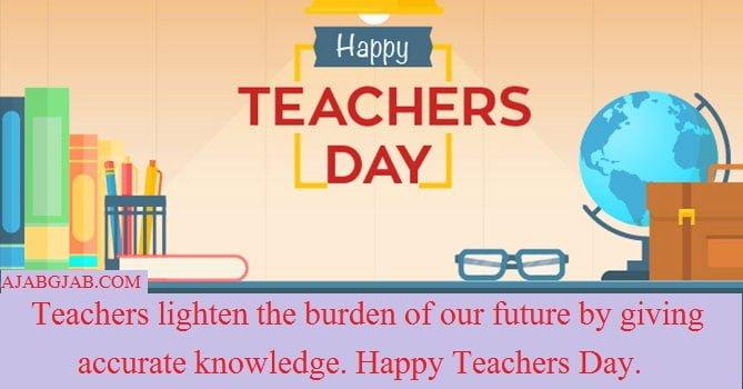 Teachers Day Status In English