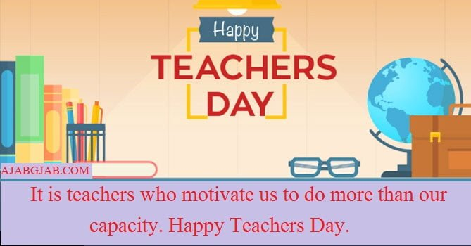 Teachers Day WhatsApp Status In English