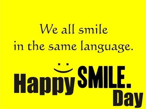 World Smile Day HD Wallpaper