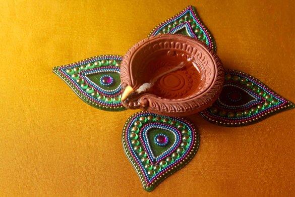 Diwali Rangoli Designs With Color