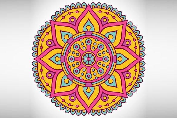 Diwali Rangoli Designs With Flower