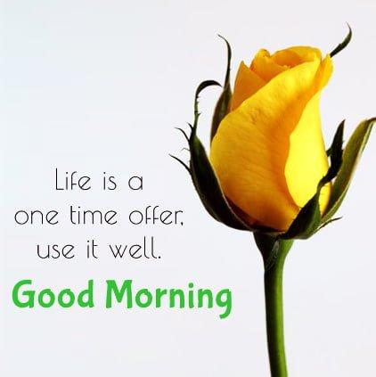 Good Morning Facebook DP
