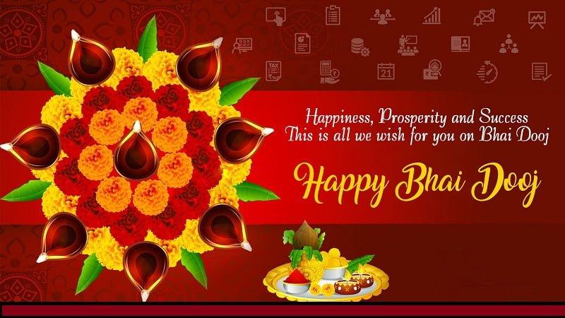 Happy Bhai Dooj 2019 Hd Greetings For Desktop