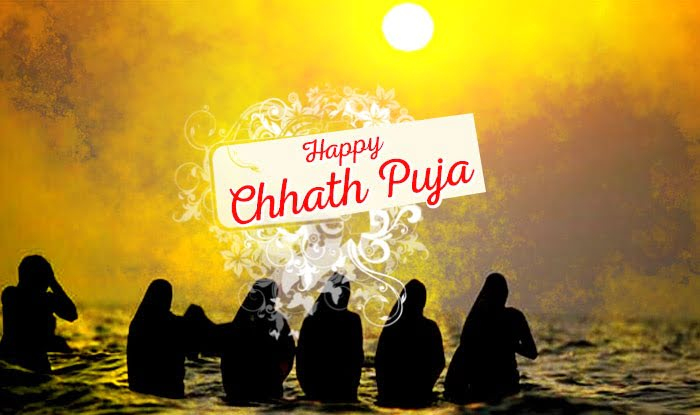 Happy Chhath Puja Facebook Wallpaper