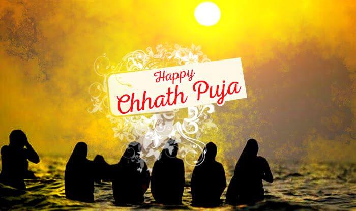 Happy Chhath Puja Facebook Wallpaper