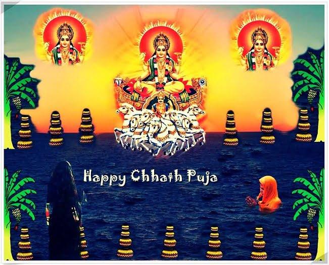 Happy Chhath Puja Wallpaper