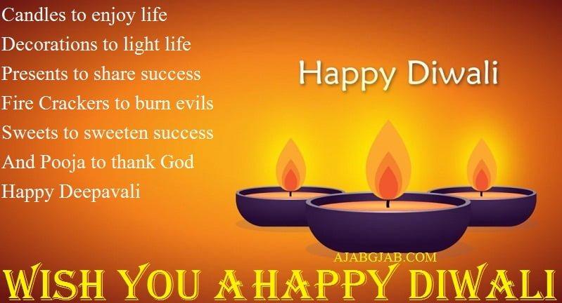 Happy Diwali SMS In English