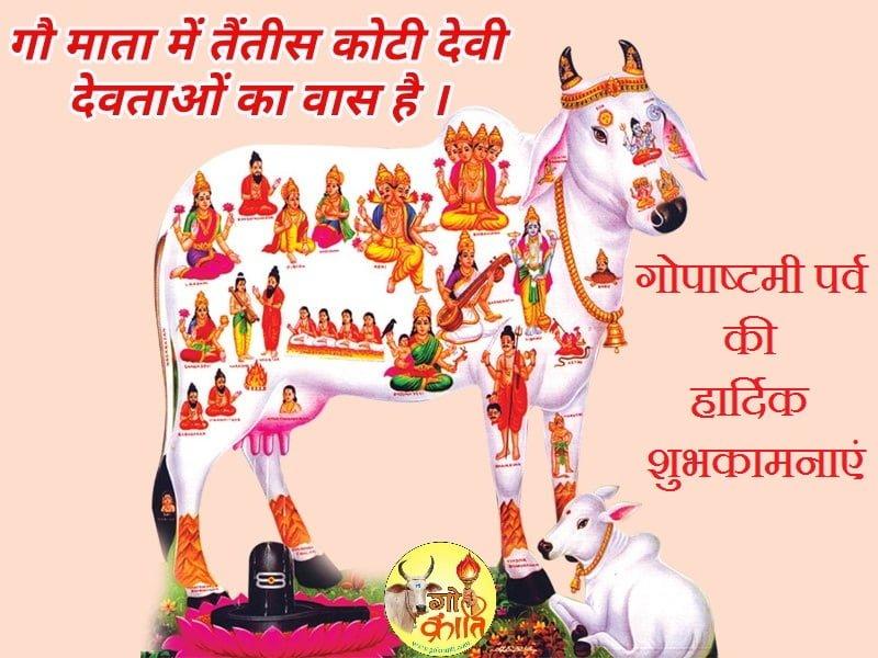 Happy Gopashtami Wallpaper