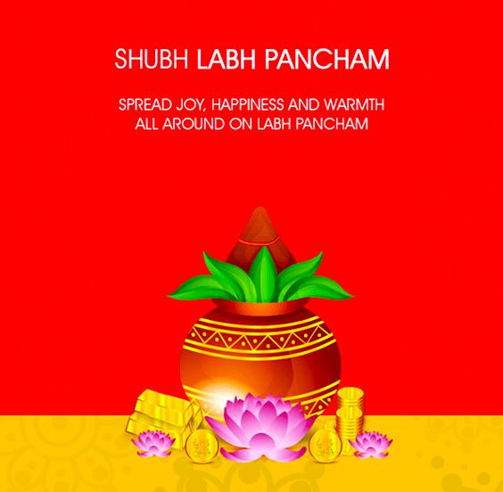 Happy Labh Pancham Wallpaper