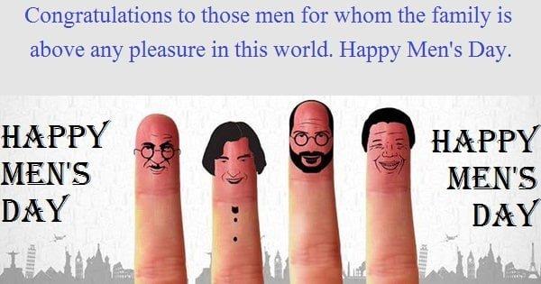 Happy Men's Day Messages