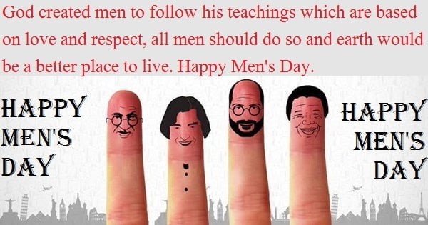 Happy Men's Day Quotes