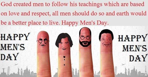Happy Men's Day Quotes
