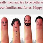 Happy Men's Day 2019 Hd Photos For Mobile