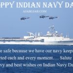 Indian Navy Day Status